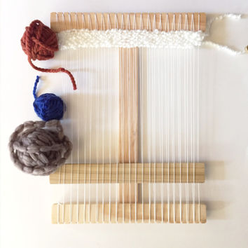 Ultimate Small Size Wood Weaving Loom Kit
