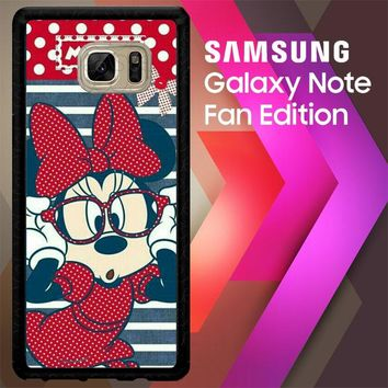 Minnie Mouse J0187 Samsung Galaxy Note FE Fan Edition Case