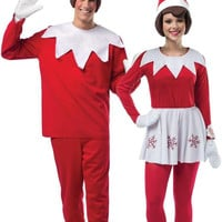 adult elf on the shelf couples costume | one-size