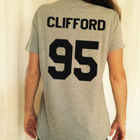 Clifford 95 grey TShirt Unisex fangirls top shirt girls gifts funny tumblr instagram blogger fashion gifts teens teenagers