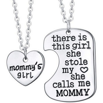 This Girl Stole My Heart Necklace