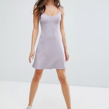 ASOS Cami Swing Sundress with Tie Straps at asos.com