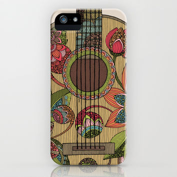 The Guitar iPhone & iPod Case by Valentina Harper