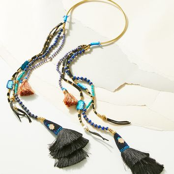 Free People Misterio Mala Layering Necklace
