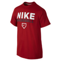 Nike Baseball Legend TD Boys' T-Shirt - Gym Red