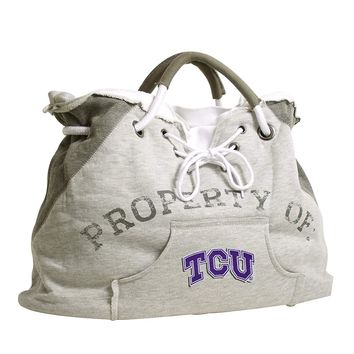 TCU Horned Frogs Kangaroo Hoodie Purse