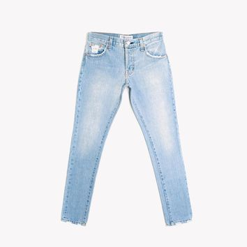Skinny Light Aged Babe Jeans