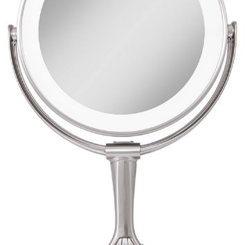 Zadro 10X/1X Magnification LED Variable Lighted Vanity MakeUp Mirror LVAR410 NEW