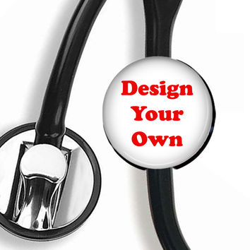 Stethoscope ID Tag, Scope Cover - Design Your Own