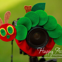 Lens Bling -Very Hungry Caterpillar - Ready to Ship