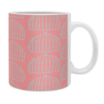 Allyson Johnson Bird Cage Pattern Coffee Mug