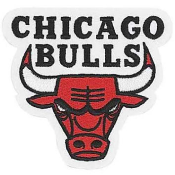 NBA Logo Patch - Chicago Bulls