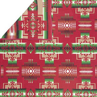 Pendleton ® Chief Joseph Indian Blanket, Cardinal Red Blanket