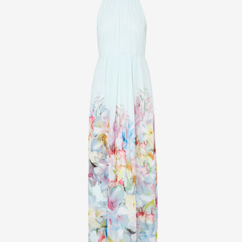 Hanging Gardens maxi dress - Mint | Dresses | Ted Baker UK