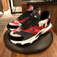 Valentino Men's Leather BOUNCE Sport Shoes