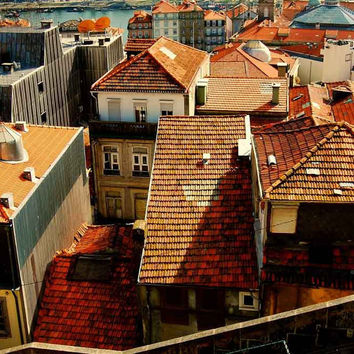 Portugal Porto Rooftops Fine Art Photography Print