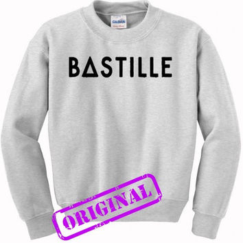 Bastille for sweater ash, sweatshirt ash unisex adult