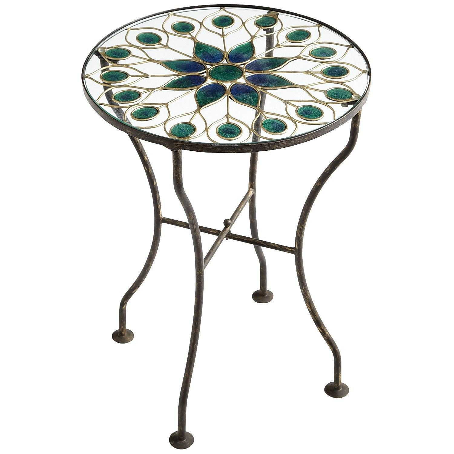 Peacock accent table from pier 1 imports home garden - Pier one peacock chair ...