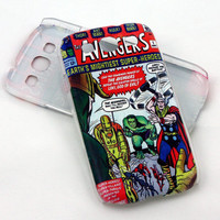 Avengers case for Samsung Galaxy S3 phone - Earth's Mightiest Super Heroes!
