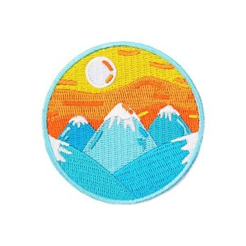 Mountain Sunrise Patch