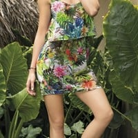 SAHA - Short Floral Dress | Shop Miami Style