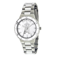 Los Angeles Angels MLB Ladies Pro Pearl Series Watch