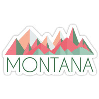 'Montana' Sticker by luggagestickers