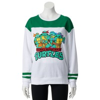 Freeze Teenage Mutant Ninja Turtles Juniors' Football Fleece Sweatshirt, Size: