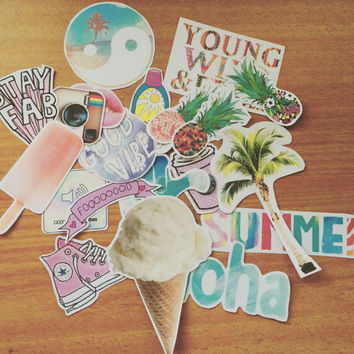 Summer Tumblr Stickers BOMB