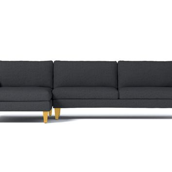 Formosa 2pc Sectional Sofa :: Leg Finish: Natural / Configuration: LAF - Chaise on the Left