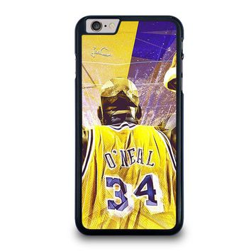 SHAQUILLE O'NEAL LA LAKERS iPhone 6 / 6S Plus Case Cover