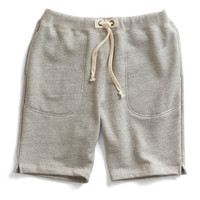 Warm Up Short in Grey Heather
