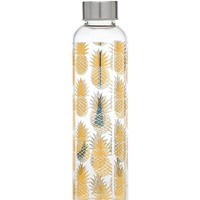 PINEAPPLE GLASS BOTTLE