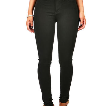 Carbon High Waist Skinnys
