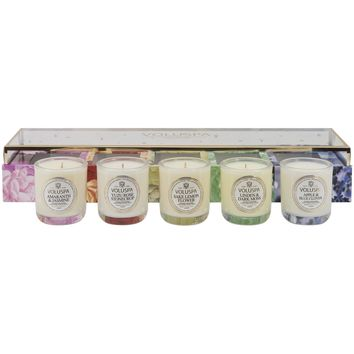 Voluspa Maison Jardin 5PC Votive Candle Set