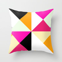 Tropical Mix #3 Throw Pillow by Ornaart