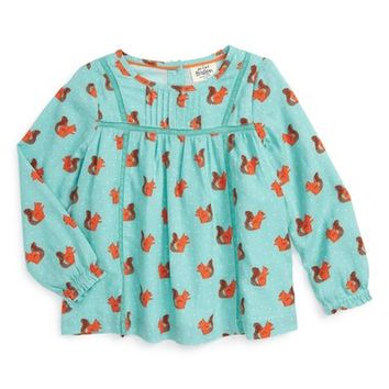 Mini Boden Woven Smock Top (Toddler Girls, Little Girls & Big Girls) | Nordstrom