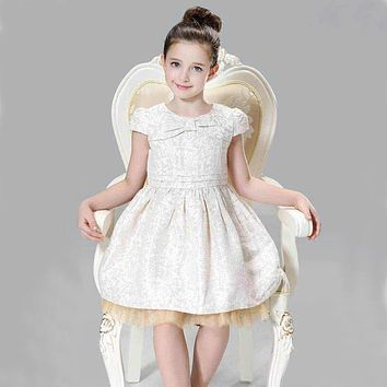 ChildDkivy 3-12 Years Autumn Toddler Girl Lace Girl Princess Dress For Kids Party Dresses Christmas Dress for Baby Girls Clothes