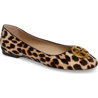 Tory Burch Chelsea Genuine Calf Hair Ballet Flat (Women) | Nordstrom