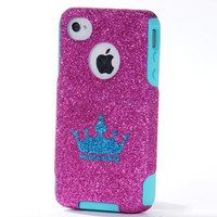 SALE Otterbox iPhone 4 Case  Glitter iPhone 44S Otterbox  by 1WinR