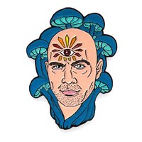 Joe Rogan Pin (Glow-in-the-Dark)