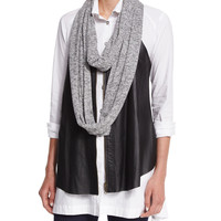 Loop Knit Scarf, Size: ONE SIZE, HEATHER GREY - XCVI