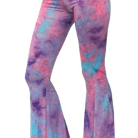 Sparkl Bell Bottoms Cotton Candy TYE DYE