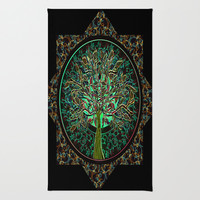 Harmony & Hope Area & Throw Rug by Amelia Carrie | Society6