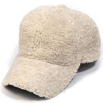Shearling Baseball Caps | Colors