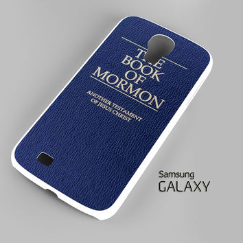 The Book of Mormon Cover Broadway Musical A0777 Samsung Galaxy S3 S4 S5 Note 3 Cases - Galaxy