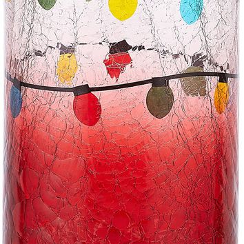 Merry & Bright Holiday Hoopla Jar Candle Holder