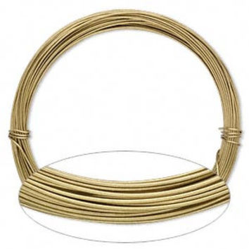 Aluminum Gold Wire 20 gauge Bendable Dead Soft Wire Wrapping Craft Bulk Reel Wholesale Jewelry Supplies Supply CrazyCoolStuff