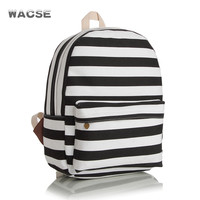 Stripes Korean Striped Backpack = 4887518212