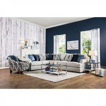 PENNINGTON SECTIONAL - Light Grey